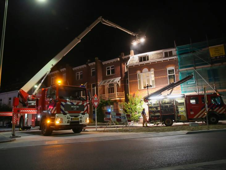 Woningbrand aan Halsterseweg in Bergen op Zoom