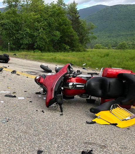Zeven motorrijders overleden na crash met pick-uptruck in New Hampshire