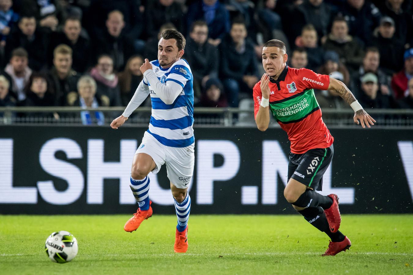 Voor De Graafschap en NEC komt de discussie over een nieuwe competitieopzet als een verrassing.