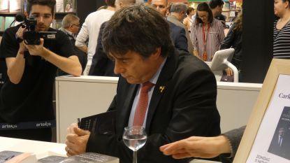 Puigdemont stelt boek voor op Boekenbeurs