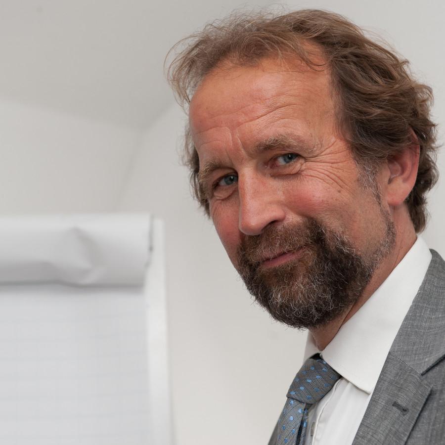 Harry ter Braak, donderdagavond benoemd tot informateur in Dronten.