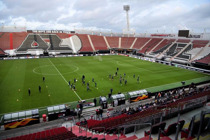 AZ traint in het AFAS Stadion.