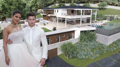 BINNENKIJKEN. Eén jaar na hun huwelijk kopen Nick Jonas en Priyanka Chopra een indrukwekkende villa