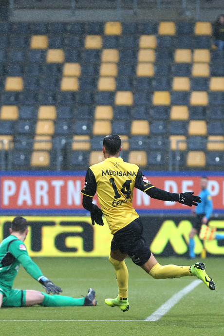 Valse start GA Eagles in tweede competitiehelft, Roda JC met 3-1 te sterk