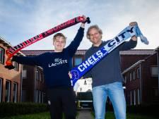 Gertjan (44) en zoon Jesper (15) bezochten al ruim 100 voetbalstadions