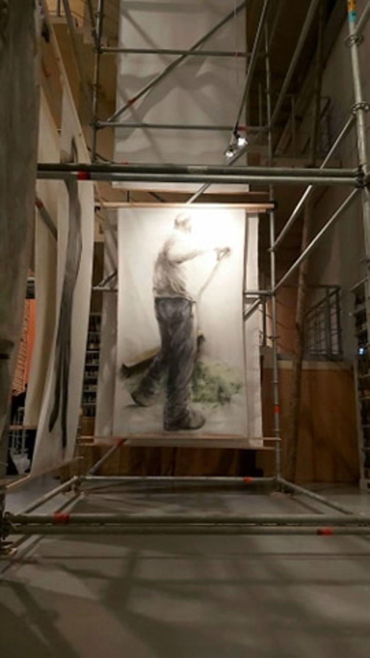 Expo 'Hommelbloed' - kunstenares Nele Boudry