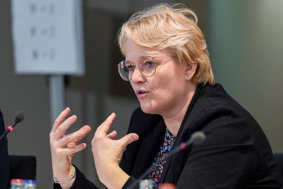 Nathalie Muylle (CD&V), federaal minister van Werk en Economie.