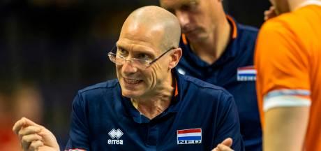 Volleybal-coach verrast na nederlaag: 'Ik heb er geen verklaring voor'