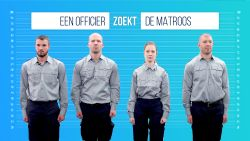 Zoek mee naar de echte matroos in 'De Line-Up'