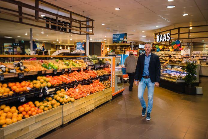 Ruud van der Laan, manager Albert Heijn in Gennep