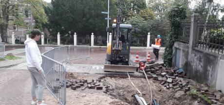 Wateroverlast in Ubbergen door gesprongen leiding
