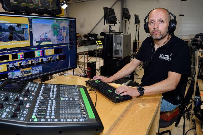 Roel Rekko maakt al 10 jaar professionele livestreams voor bedrijven, overheden, kerken en ook voor het internet van AD wielrennen