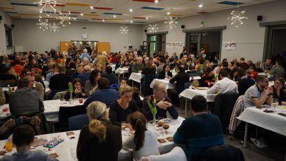 Geslaagd eetfestijn in Sint-Barbaracollege