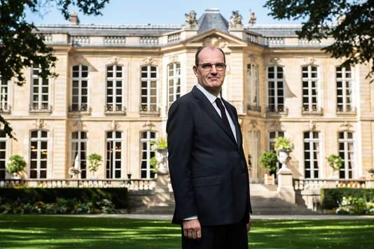 Le Premier ministre français Jean Castex à Matignon