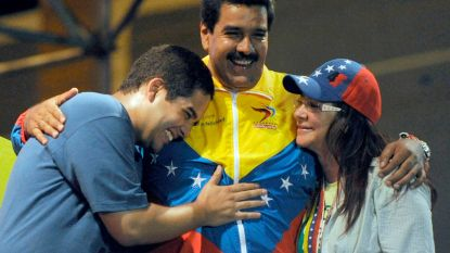 Regering-Trump legt zoon Maduro financiële sancties op