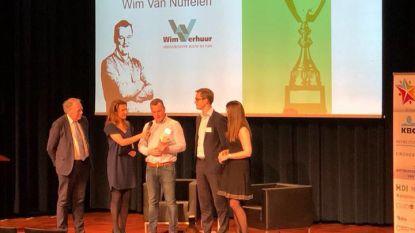 Wim Van Nuffelen Antwerpse jonge ondernemer van het jaar