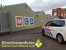 Inbraak bij supermarkt MCD in Papendrecht