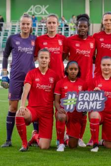 FC Twente Vrouwen sluit trainingskamp af met stunt tegen Wolfsburg