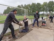 Afgelast corso levert VENO Vollenhove een opgepoetst sportpark op