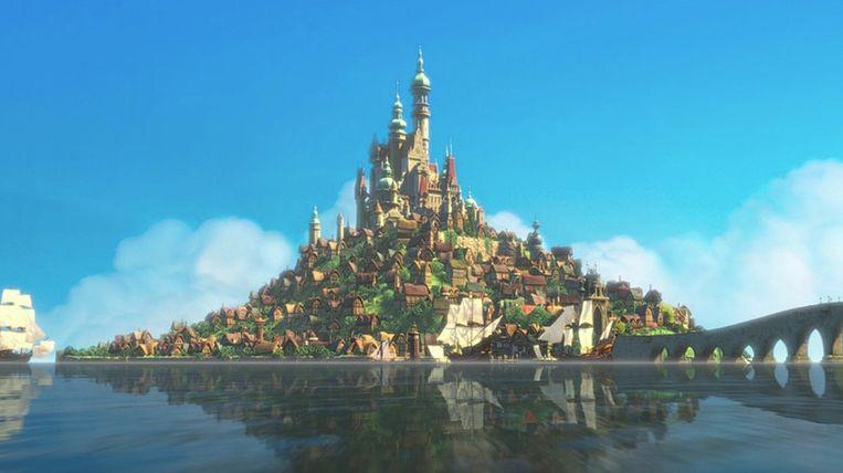 Het koninkrijk Corona in Rapunzel.