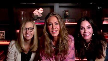 'Friends'-actrices houden reünie tijdens Emmy Awards