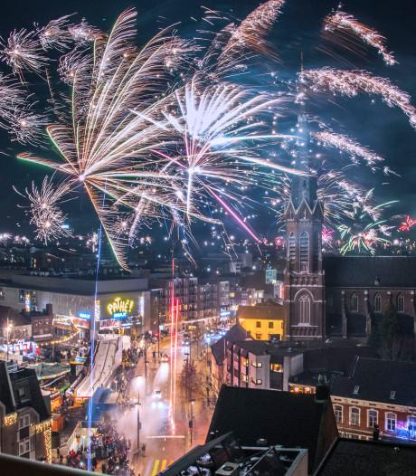BD-poll: één centrale vuurwerkshow Tilburg met algeheel verbod in de stad 'wint' nipt