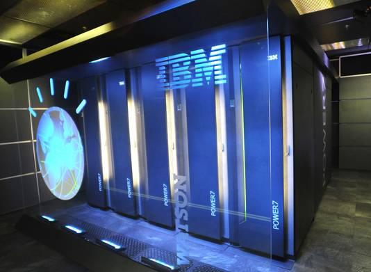 IBM's Watson, althans alle rekenkracht die er achter zit.