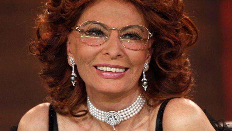 Sophia Loren Beeld Reuters