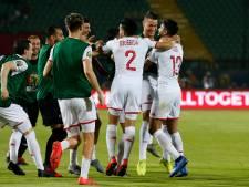 Tunesië probleemloos als laatste naar halve finales