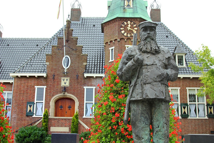 Het gemeentehuis van Woudenberg.