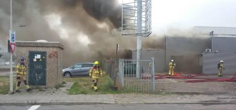 Brand bij poeliersbedrijf in Arnhem