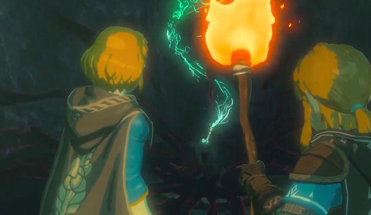 Link en Zelda zijn te zien in de teaser die Nintendo deelde.