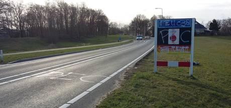 Aangifte tegen PEC-vandalen die verkeersborden besmeurden