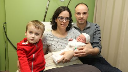 Twee nieuwjaarsbaby's in Jan Ypermanziekenhuis