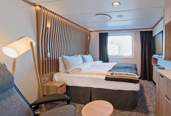 De cabines kregen een Scandinavische touche.
