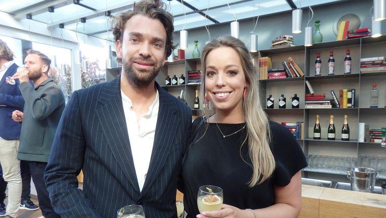 Victor Chavagne (Bijenkorf) en Sophie Janssen (Pullitzer), de bedenkers van de take-over. 'We dachten: twee mooie, Amsterdamse partijen samen.' Beeld Schuim