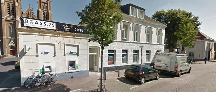 Het hotel in Cuijk, toen het nog Brass29 was.