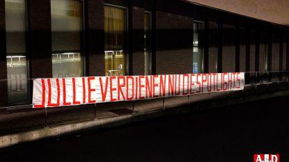 Na AA Gent nu ook Antwerp, Cercle en Essevee: fans van onze Belgische ploegen steken zorgverleners hart onder de riem