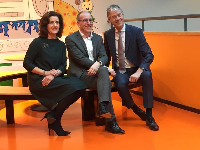 VLNR: Minister Van Engelshoven, rector Van Grunsven en minister Slob