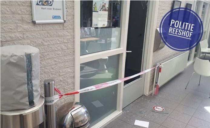 Zorgcentrum Reeshof overhoop gehaald door inbrekers