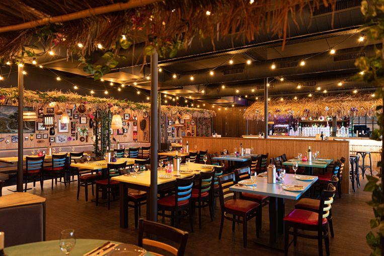 Bowlingbaan getransformeerd tot Hawaïaans paradijs: Aloha