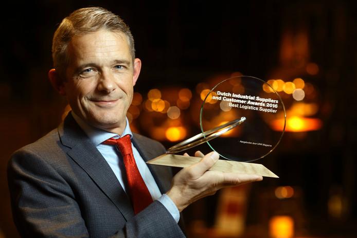 """Algemeen directeur Peter Rikken van verpakkingsbedrijf Meilink noemt de winst """"een fantastische waardering""""."""