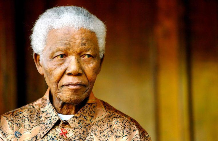 Nelson Mandela Beeld afp