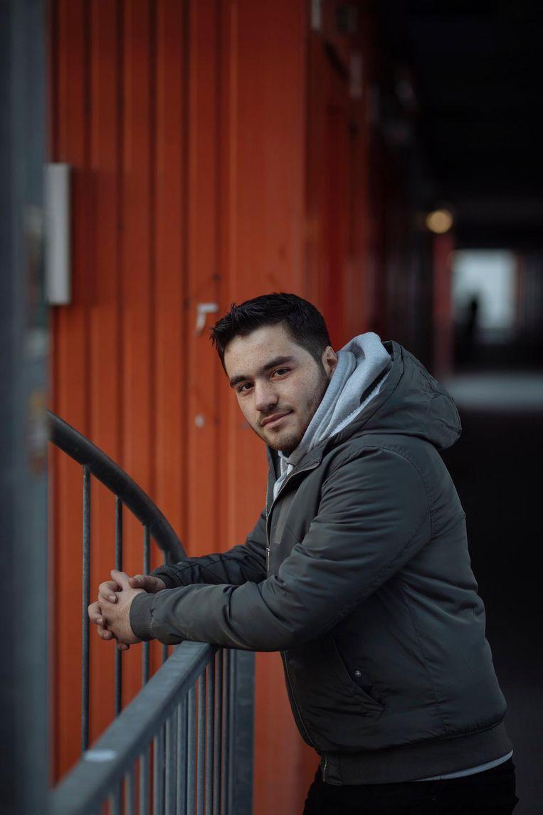 Katmeh: 'IS komt er misschien niet in, maar mijn familie komt er ook niet uit' Beeld Marc Driessen