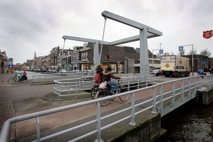 De Lijndraaiersbrug in Maassluis.
