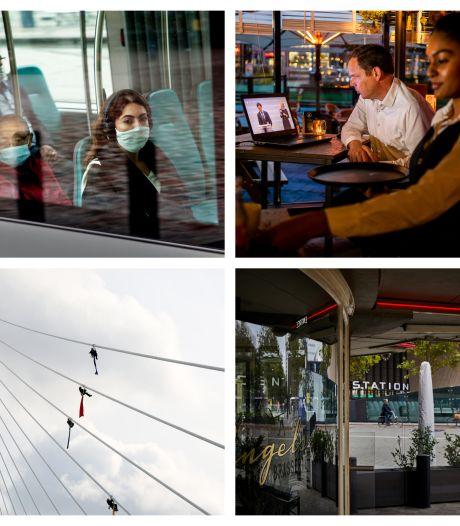 Gemist? Rotterdam in gedeeltelijke lockdown, zorgen om OV en actievoerders Greenpeace opgepakt