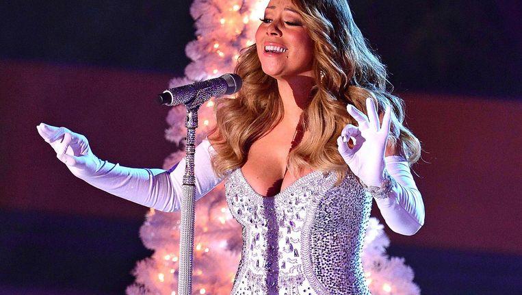 Met haar kerstshow geeft Mariah Carey pas haar vierde optreden in Nederland Beeld WireImage