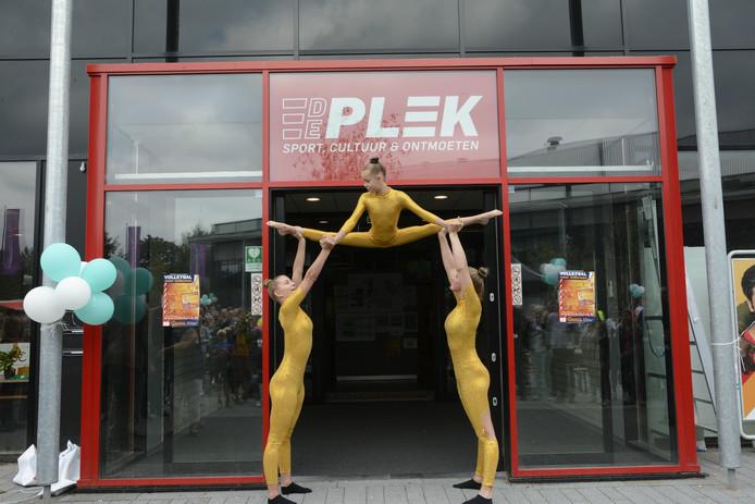 De Plek is de naam van de nieuwe zaal die zondag onthuld werd.