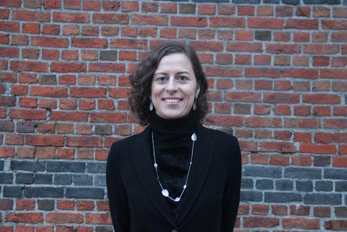 Horebeeks burgemeester Cynthia Browaeys (Volksbelangen).