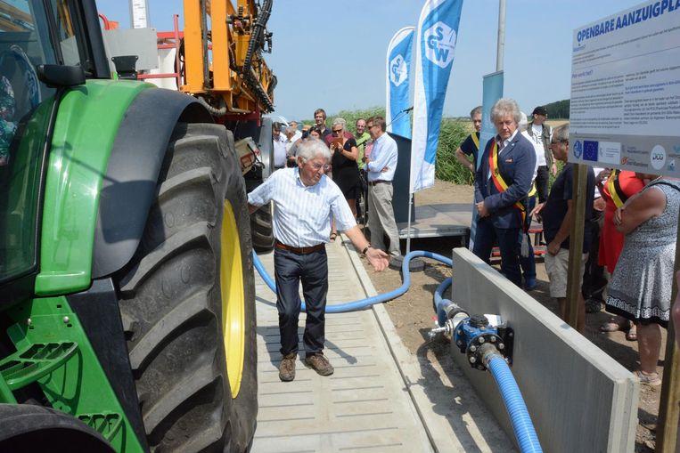 Landbouwers kunnen sinds vorig jaar hun sproeitoestellen op een veilige manier met water vullen.
